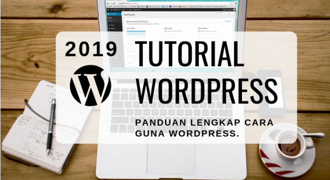 tutorial wordpress lengkap versi 2019