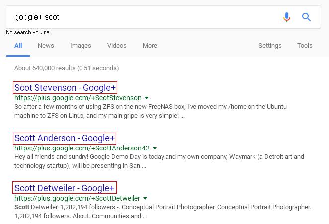 pencarian google plus akaun d google search