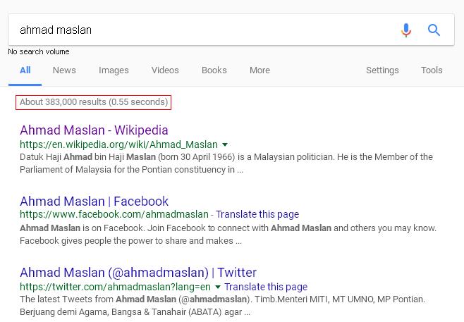 contoh pencarian google menggunakan kata kunci ringkas