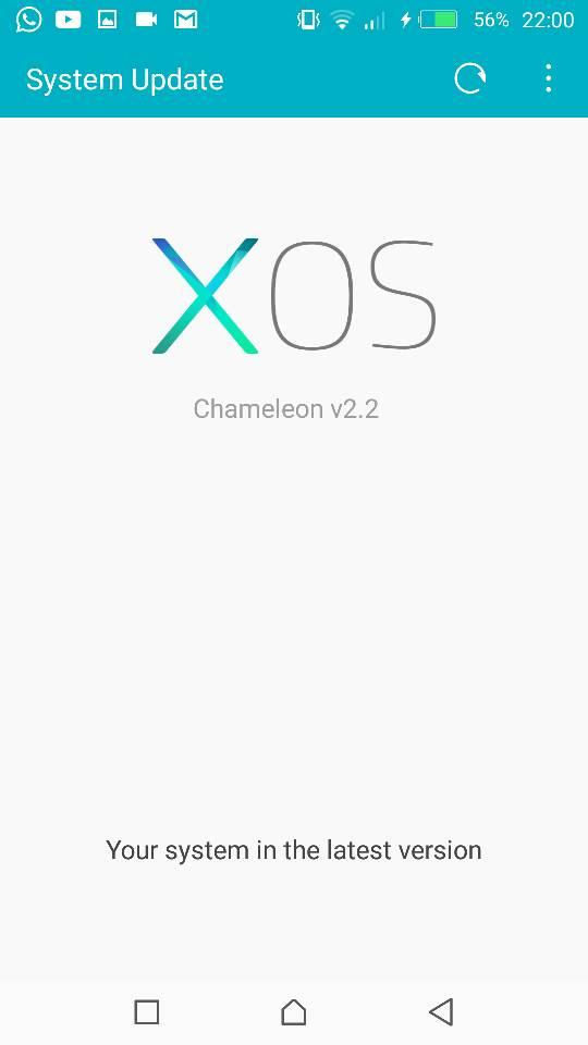 sistem android terbaru up to date