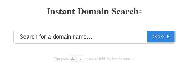 periksa nama domain anda