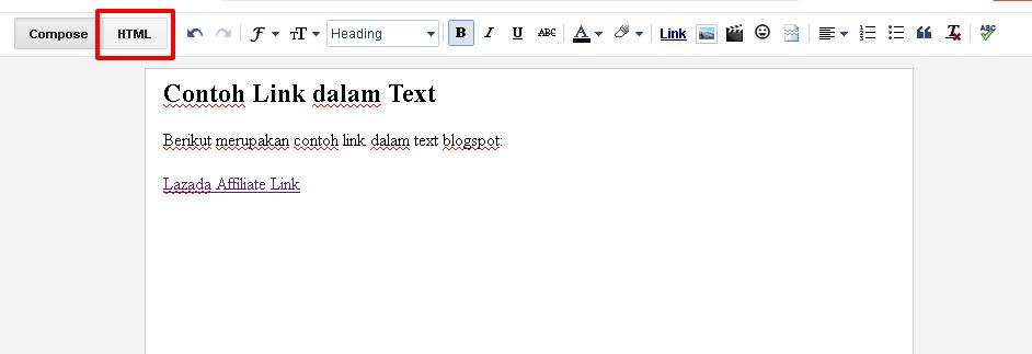 blogspot klik html