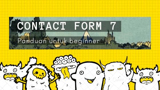 cara guna plugin contact form 7