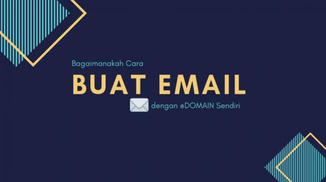 cara membuat email dengan domain sendiri