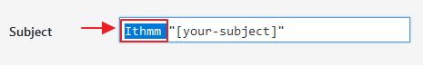 ubah subject contact form 7