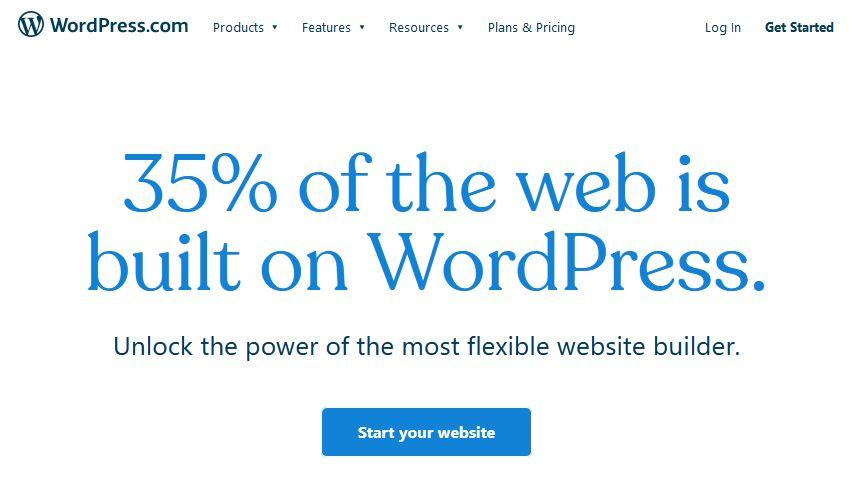 laman web wordpress.com