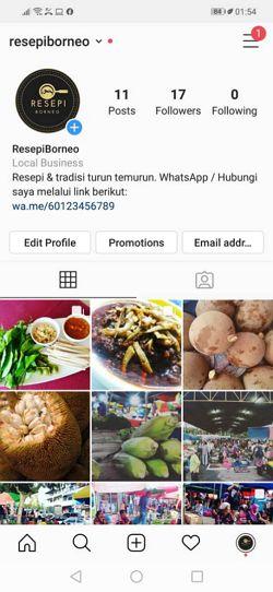 link whatsapp dalam profile ig