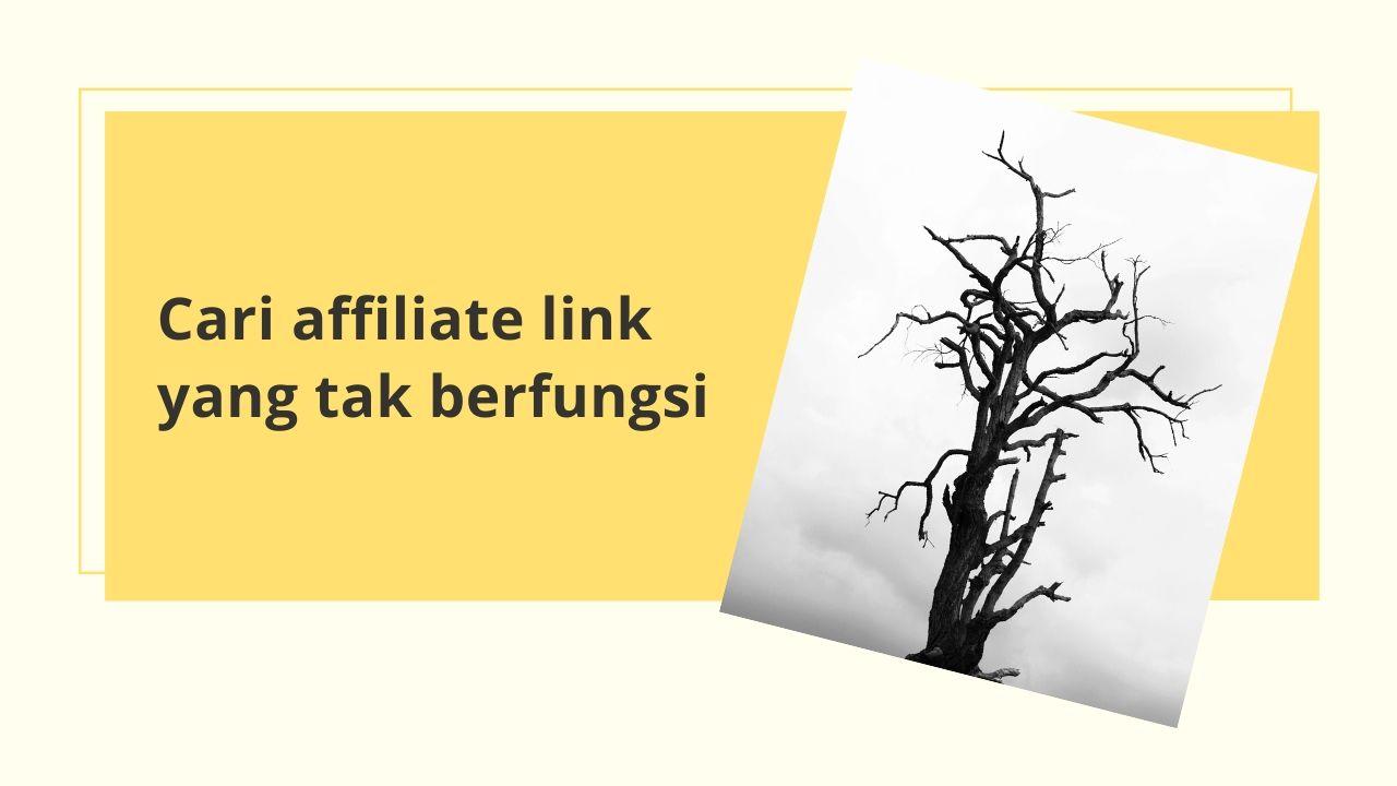 Periksa Broken Link Affiliate