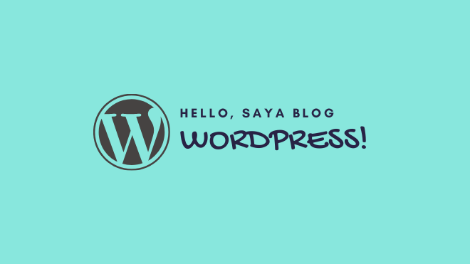 wordpress platform blog terbaik