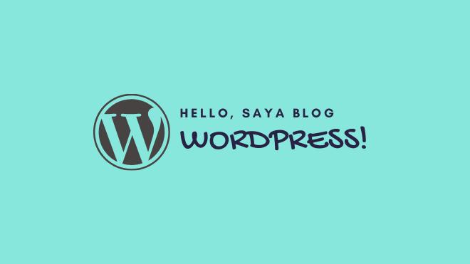 wordpress platform blog terbaik