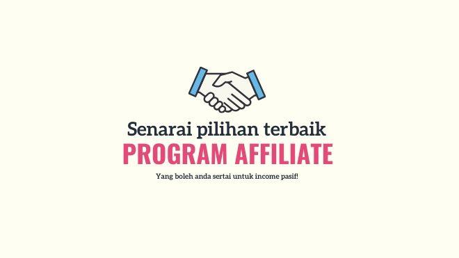senarai program affiliate di malaysia