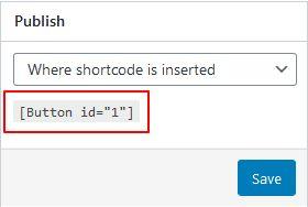 shortcode butang link