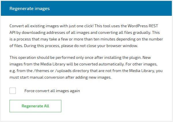 regenerate img kepada format webp