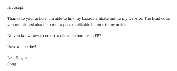 bagaimana cara nak buat clickable banner di facebook?