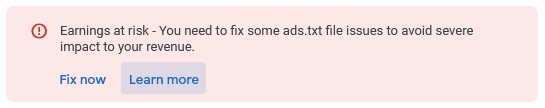 fix ads txt google adsense