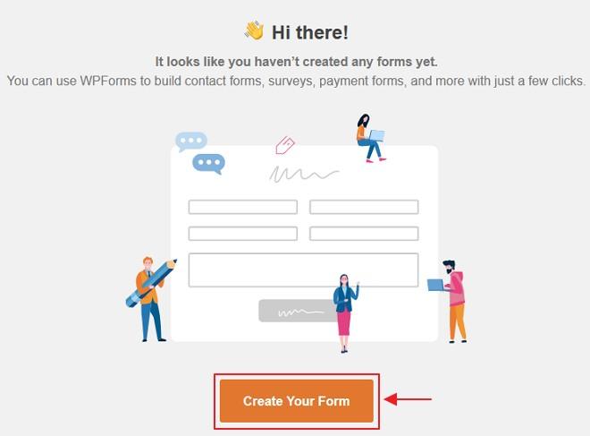 create form wpforms