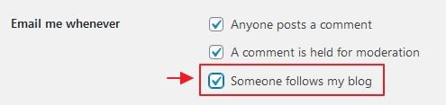 setting notifikasi subscribe