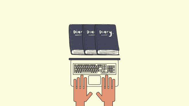 blog sebagai personal diari
