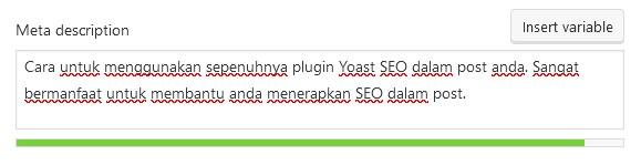 contoh meta description hijau yoast SEO