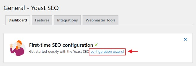 yoast seo configuration wizard