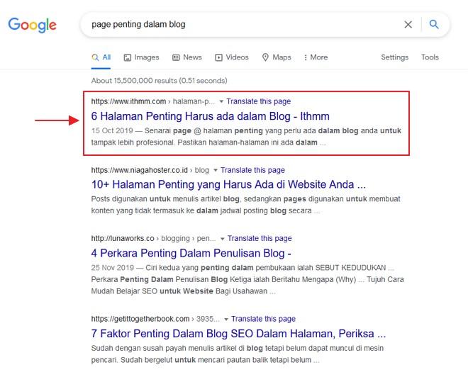 on page seo untuk ranking lebih baik dalam google