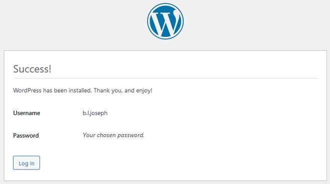 proses install wordpress offline berjaya