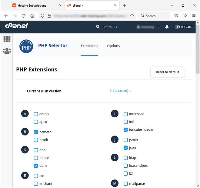 paparan bahagian update php version