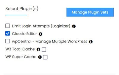 select plugin